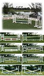 PK Advance Hunter - PVC Horse Jumps Course Package (8 jumps)