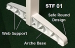 ASTF01 - Horse Jumps Standards Feet (4 units)