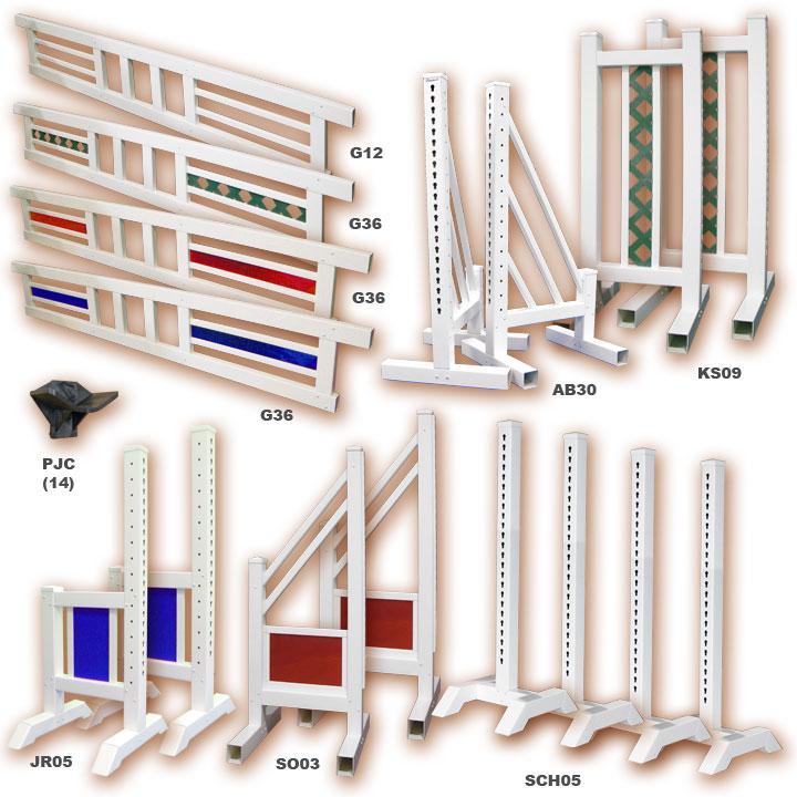 PVC Horse Jumps: Course Packages